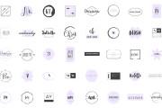 Сделаю качественный логотип по шаблону за 20 минут 6 - kwork.ru