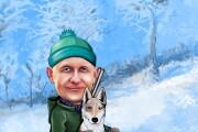 Шарж по фото 47 - kwork.ru