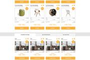 Уникальный дизайн сайта для вас. Интернет магазины и другие сайты 238 - kwork.ru