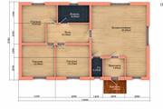 Создам планировку дома, квартиры с мебелью 129 - kwork.ru