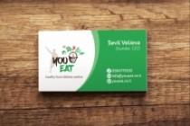 3 варианта дизайна визитки 172 - kwork.ru