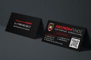 Дизайн визитки с исходниками 188 - kwork.ru