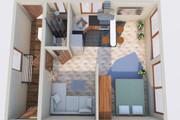 Создам планировку дома, квартиры с мебелью 96 - kwork.ru
