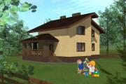 Проект коттеджа 20 - kwork.ru