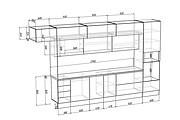 Конструкторская документация для изготовления мебели 209 - kwork.ru