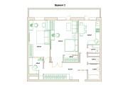 Планировочные решения. Планировка с мебелью и перепланировка 208 - kwork.ru