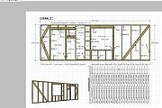 Сделаю 3D проект каркасного дома 23 - kwork.ru