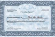 Дизайн Диплома, Сертификата, Благодарности, Грамоты 11 - kwork.ru