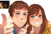 Создам ваш портрет в стиле аниме 79 - kwork.ru