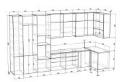 Проект корпусной мебели, кухни. Визуализация мебели 106 - kwork.ru