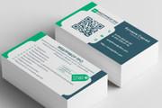 Разработаю красивый, уникальный дизайн визитки в современном стиле 188 - kwork.ru