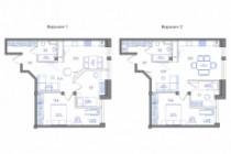 Планировка квартиры или жилого дома, перепланировка и визуализация 212 - kwork.ru