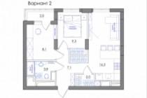 Планировка квартиры или жилого дома, перепланировка и визуализация 194 - kwork.ru