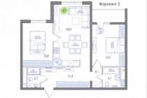 Планировка квартиры или жилого дома, перепланировка и визуализация 193 - kwork.ru
