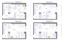 Планировка квартиры или жилого дома, перепланировка и визуализация 188 - kwork.ru