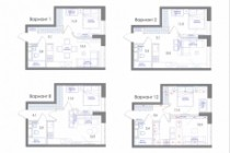 Планировка квартиры или жилого дома, перепланировка и визуализация 187 - kwork.ru