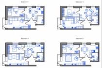Планировка квартиры или жилого дома, перепланировка и визуализация 221 - kwork.ru
