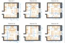 Планировка квартиры или жилого дома, перепланировка и визуализация 220 - kwork.ru