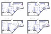 Планировка квартиры или жилого дома, перепланировка и визуализация 217 - kwork.ru