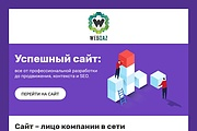 Html-письмо для E-mail рассылки 209 - kwork.ru