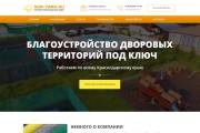 Продающий сайт - Лендинг под ключ, для любых целей 122 - kwork.ru