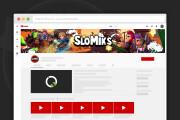 Сделаю оформление канала YouTube 150 - kwork.ru