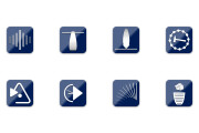 Иконки в уникальном стиле, для сайта и приложения Вашего Бренда 23 - kwork.ru