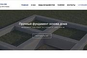 Создание сайта под ключ. CMS WordPress. Platforma LP 10 - kwork.ru