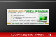 Баннер, который продаст. Креатив для соцсетей и сайтов. Идеи + 176 - kwork.ru