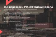 Стильный дизайн презентации 725 - kwork.ru