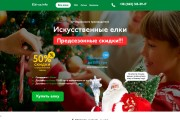 Копия сайта, landing page + админка и настройка форм на почту 201 - kwork.ru