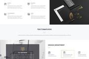 Дизайн страницы сайта 160 - kwork.ru