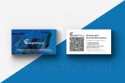 2 варианта дизайна макета визиток 4+4 от профессионального дизайнера 16 - kwork.ru