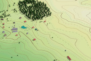 Выполню трехмерную модель местности 23 - kwork.ru