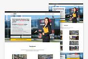 Адаптивный лендинг с индивидуальным дизайном на WordPress 88 - kwork.ru