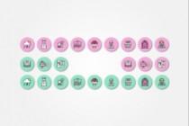 Создам 5 иконок в любом стиле, для лендинга, сайта или приложения 187 - kwork.ru