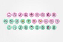 Создам 5 иконок в любом стиле, для лендинга, сайта или приложения 185 - kwork.ru