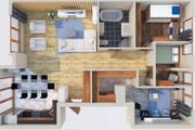 Создам планировку дома, квартиры с мебелью 84 - kwork.ru