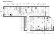Разработка 3 вариантов планировки квартиры 49 - kwork.ru