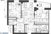 Разработка 3 вариантов планировки квартиры 45 - kwork.ru