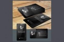 Сделаю дизайн визитки 182 - kwork.ru