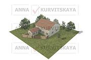 Создам план в ArchiCAD 31 - kwork.ru