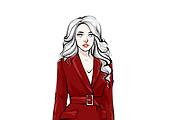 Fashion иллюстрация 11 - kwork.ru