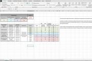 Excel формулы, сводные таблицы, макросы 167 - kwork.ru