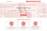 Создадим стильный адаптивный лендинг на Tilda 9 - kwork.ru