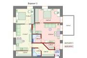 Планировочные решения. Планировка с мебелью и перепланировка 133 - kwork.ru