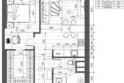 Разработка 3 вариантов планировки квартиры 33 - kwork.ru