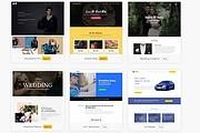 ПАК 1000 шаблонов и дополнений для WordPress 141 - kwork.ru