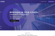 Разработаю качественный дизайн Landing page 25 - kwork.ru
