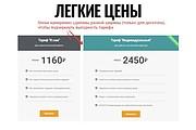 Лендинг для любых целей на Wordpress 124 - kwork.ru